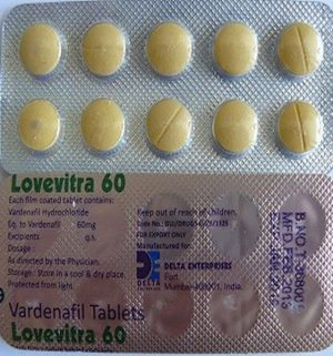 VARDENAFIL buy in USA. Lovevitra 60 mg - price and reviews